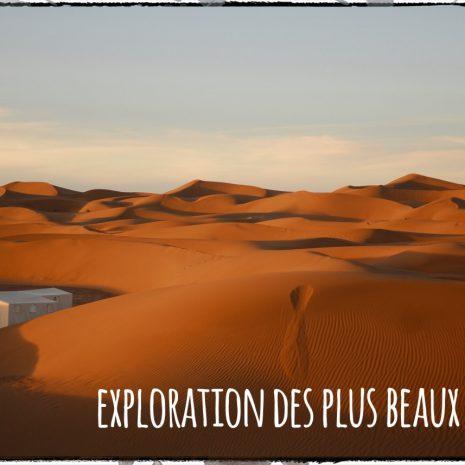 Les plus beaux déserts