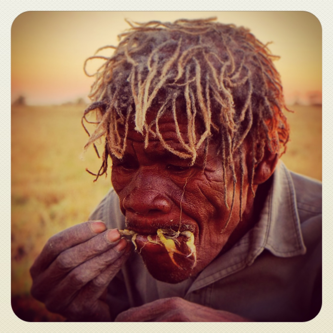 Experience avec les tribus du Kalahari